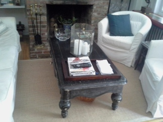 Coffee Table Makeover by Just Something I Whipped Up