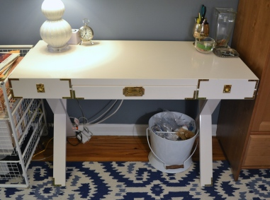 DIY Campaign Desk by Just Something I Whipped Up