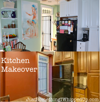 Kitchen Makeover from Just Something I Whipped Up
