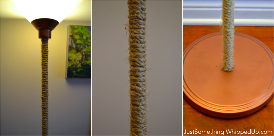 Copper and Sisal IKEA Lamp Hack  Just Something I Whipped Up